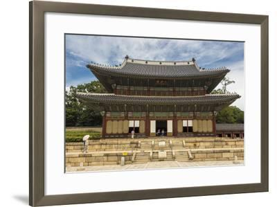 Injeongjeon Main Palace Building, Changdeokgung Palace, Seoul, South Korea, Asia-Eleanor Scriven-Framed Photographic Print
