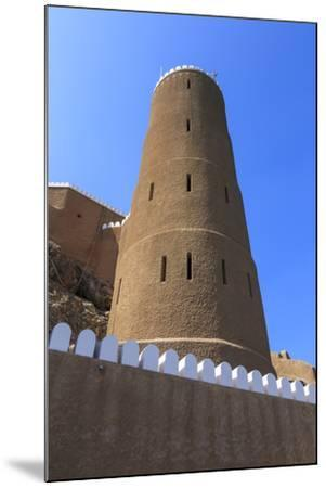 Tower of Al-Mirani Fort, Old Muscat, Oman, Middle East-Eleanor Scriven-Mounted Photographic Print