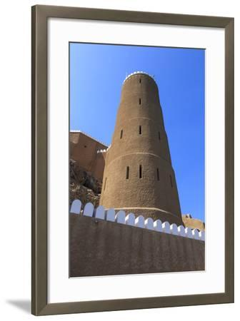 Tower of Al-Mirani Fort, Old Muscat, Oman, Middle East-Eleanor Scriven-Framed Photographic Print