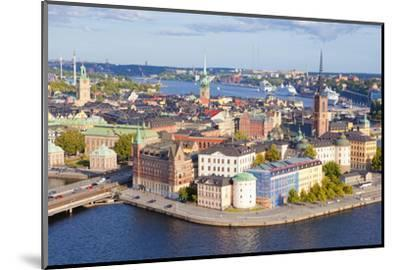 Sweden, Stockholm - the Old Town and Riddarholmen--Mounted Photographic Print