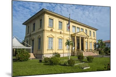 Old Colonial Buildings in Saint Laurent Du Maroni, French Guiana, Department of France-Michael Runkel-Mounted Photographic Print