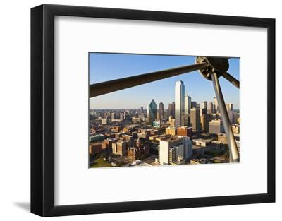Skyline from Reunion Tower, Dallas, Texas, United States of America, North America-Kav Dadfar-Framed Photographic Print