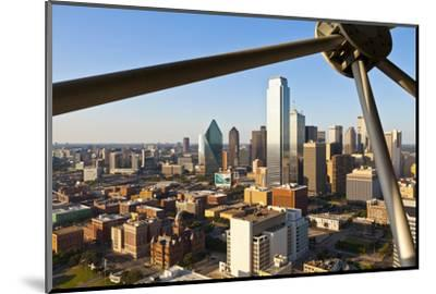 Skyline from Reunion Tower, Dallas, Texas, United States of America, North America-Kav Dadfar-Mounted Photographic Print