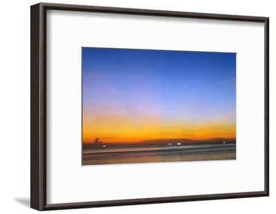 Sunset at Long Beach, Phu Quoc Island, Vietnam, Indochina, Southeast Asia, Asia-Christian Kober-Framed Photographic Print