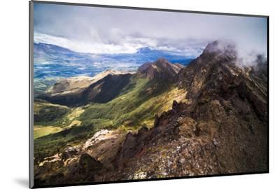 Ruminahui Volcano Summit, Cotopaxi National Park, Avenue of Volcanoes, Ecuador, South America-Matthew Williams-Ellis-Mounted Photographic Print
