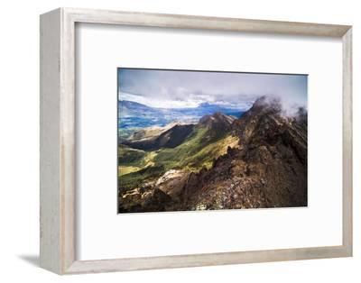 Ruminahui Volcano Summit, Cotopaxi National Park, Avenue of Volcanoes, Ecuador, South America-Matthew Williams-Ellis-Framed Photographic Print