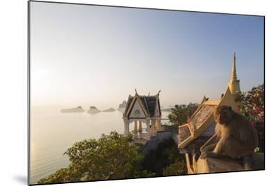 Wat Thammikaram Worawihan Temple, Khao Chong Krajok, Prachuap Kiri Khan, Thailand, Southeast Asia-Christian Kober-Mounted Photographic Print