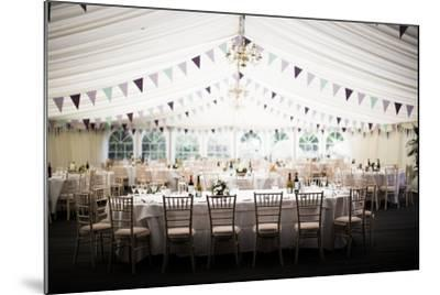 Wedding Marquee, United Kingdom, Europe-John Alexander-Mounted Photographic Print