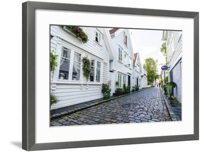 Old Stavanger (Gamle Stavanger), Rotaland-Amanda Hall-Framed Photographic Print