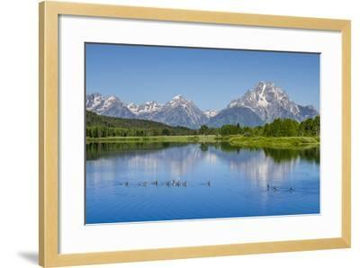 Small Lake in Grand Teton National Park, Wyoming, United States of America, North America-Michael DeFreitas-Framed Photographic Print