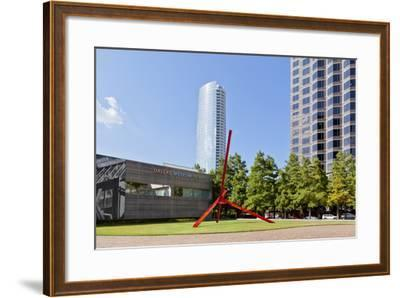 Art District, Dallas Museum of Art, Dallas, Texas, United States of America, North America-Kav Dadfar-Framed Photographic Print
