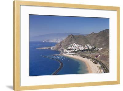 Playa De Las Teresitas Beach, Spain-Markus Lange-Framed Photographic Print