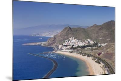 Playa De Las Teresitas Beach, Spain-Markus Lange-Mounted Photographic Print