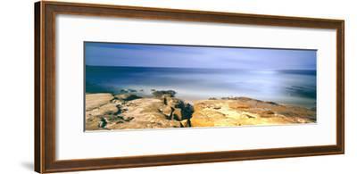 Scenic View of a Coast, Windansea Beach, La Jolla, San Diego, San Diego County, California, Usa--Framed Photographic Print