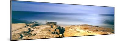 Scenic View of a Coast, Windansea Beach, La Jolla, San Diego, San Diego County, California, Usa--Mounted Photographic Print