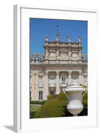 The Royal Palace of La Granja De San Ildefonso Near Segovia, Castilla Y Leon, Spain, Europe-Martin Child-Framed Photographic Print