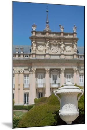 The Royal Palace of La Granja De San Ildefonso Near Segovia, Castilla Y Leon, Spain, Europe-Martin Child-Mounted Photographic Print