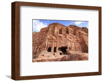 Corinthian Tomb, Royal Tombs, Petra, UNESCO World Heritage Site, Jordan, Middle East-Eleanor Scriven-Framed Photographic Print