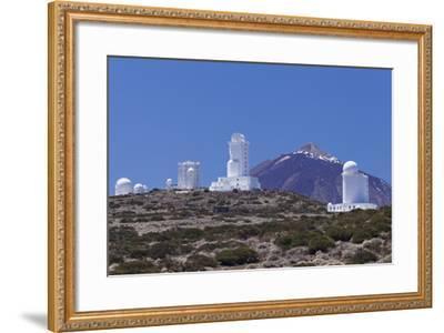 Observatory at Pico Del Teide, National Park Teide, Tenerife, Canary Islands, Spain-Markus Lange-Framed Photographic Print