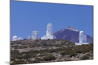 Observatory at Pico Del Teide, National Park Teide, Tenerife, Canary Islands, Spain-Markus Lange-Mounted Photographic Print