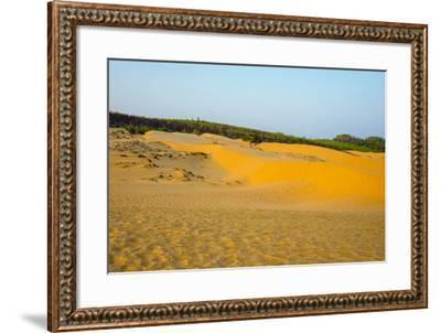 Red Sand Dunes at Mui Ne, Phan Thiet, Binh Thuan Province, Vietnam, Indochina, Southeast Asia, Asia-Jason Langley-Framed Photographic Print