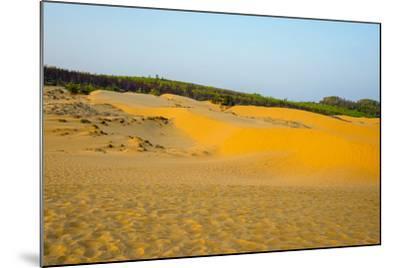 Red Sand Dunes at Mui Ne, Phan Thiet, Binh Thuan Province, Vietnam, Indochina, Southeast Asia, Asia-Jason Langley-Mounted Photographic Print