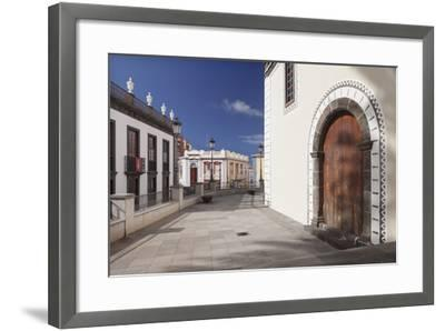 Iglesia De Bonanza Church, El Paso, La Palma, Canary Islands, Spain, Europe-Markus Lange-Framed Photographic Print