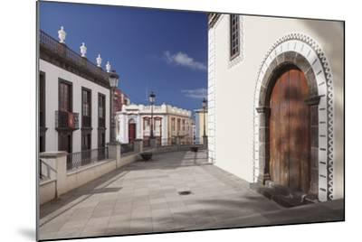 Iglesia De Bonanza Church, El Paso, La Palma, Canary Islands, Spain, Europe-Markus Lange-Mounted Photographic Print