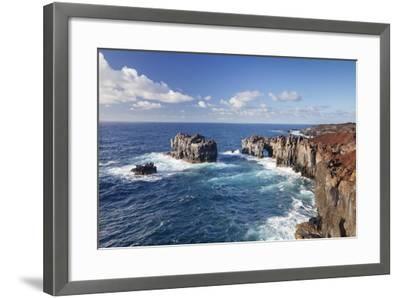 Puntas De Gutierrez, Lava Coast, El Hierro, Canary Islands, Spain-Markus Lange-Framed Photographic Print