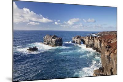 Puntas De Gutierrez, Lava Coast, El Hierro, Canary Islands, Spain-Markus Lange-Mounted Photographic Print