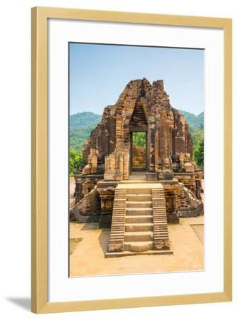My Son Ruins, Cham Temple Site, Duy Xuyen District, Quang Nam Province, Vietnam-Jason Langley-Framed Photographic Print