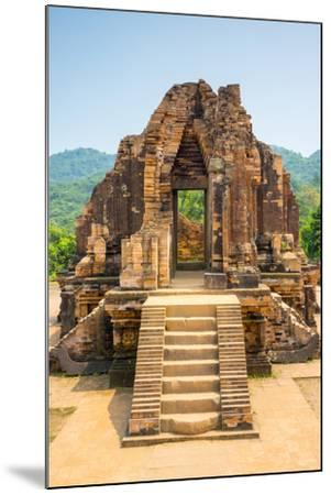 My Son Ruins, Cham Temple Site, Duy Xuyen District, Quang Nam Province, Vietnam-Jason Langley-Mounted Photographic Print