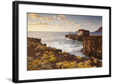 Hotel Punta Grande at Sunset, Las Puntas, El Golfo, Lava Coast, Canary Islands, Spain-Markus Lange-Framed Photographic Print