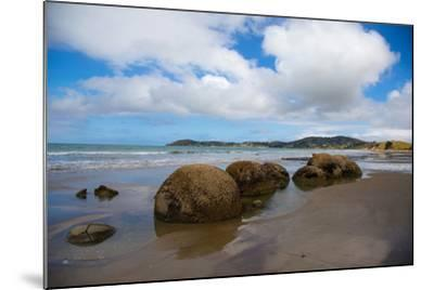 Moeraki Boulders, Koekohe Beach, Otago, South Island, New Zealand, Pacific-Suzan Moore-Mounted Photographic Print