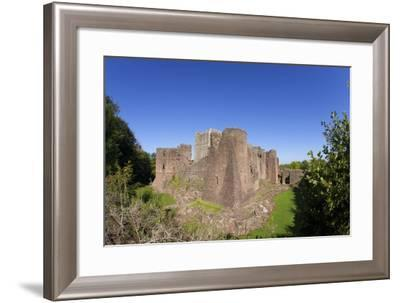 Goodrich Castle, Forest of Dean, Herefordshire, England, United Kingdom, Europe-Peter Barritt-Framed Photographic Print