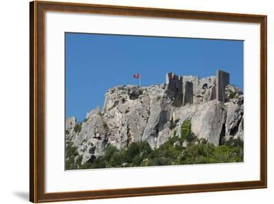 Castle Ruin in the Rocks of the Hill Village of Les Baux-De-Provence, Provence, France, Europe-Martin Child-Framed Photographic Print
