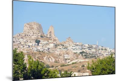 Rock-Cut Topography at Uchisar, Cappadocia, Anatolia, Turkey, Asia Minor-Christian Kober-Mounted Photographic Print