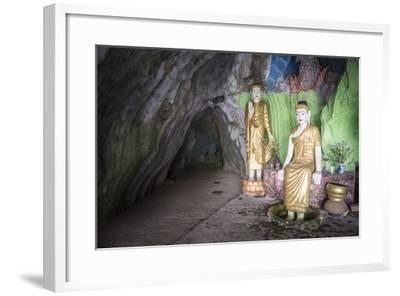 Cave Temple Near Mawlamyine, Mon State, Myanmar (Burma), Asia-Matthew Williams-Ellis-Framed Photographic Print