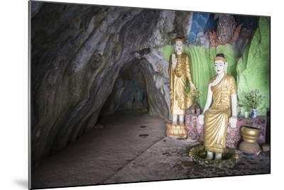Cave Temple Near Mawlamyine, Mon State, Myanmar (Burma), Asia-Matthew Williams-Ellis-Mounted Photographic Print