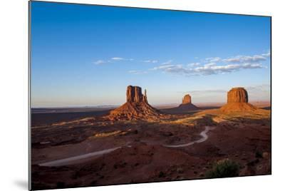 Monument Valley Navajo Tribal Park, Monument Valley, Utah, United States of America, North America-Michael DeFreitas-Mounted Photographic Print