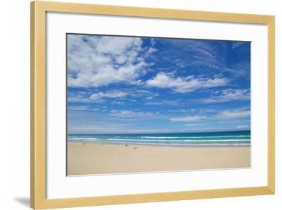 Surfers Paradise, Beach and Sky, Gold Coast, Queensland, Australia, Oceania-Frank Fell-Framed Photographic Print