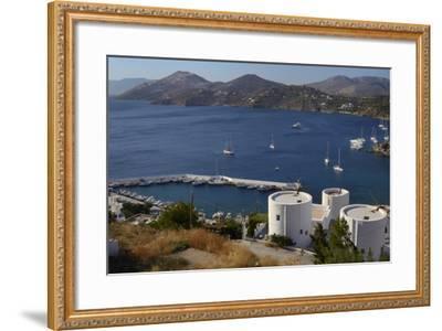 Old Windmills, Greek Islands-Nick Upton-Framed Photographic Print