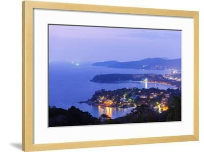 South East Asia, Thailand, Phuket, Kata Beach View Point-Christian Kober-Framed Photographic Print