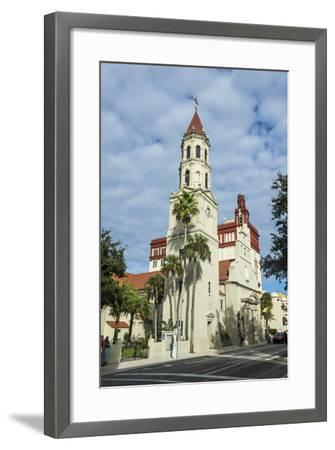 The Cathedral Basilica of St. Augustine, Florida-Michael Runkel-Framed Photographic Print