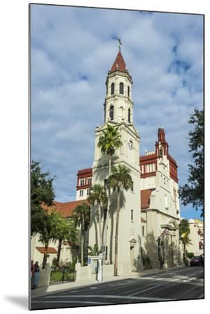 The Cathedral Basilica of St. Augustine, Florida-Michael Runkel-Mounted Photographic Print