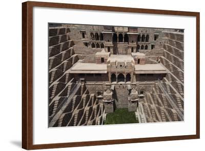 Chand Baori Step Well at Abhaneri, Rajasthan, India, Asia-Martin Child-Framed Photographic Print