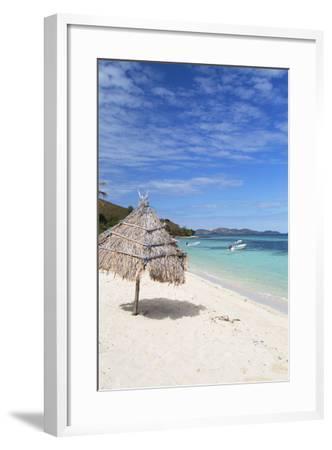 Beach on Mana Island, Mamanuca Islands, Fiji, South Pacific, Pacific-Ian Trower-Framed Photographic Print