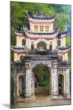 Gate of Bich Dong Pagoda, Hoa Lu District, Ninh Binh Province, Vietnam, Indochina, Southeast Asia-Jason Langley-Mounted Photographic Print