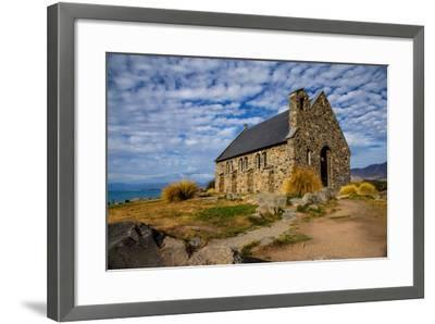 Church of the Good Shepherd, Lake Tekapo, South Island, New Zealand, Pacific-Suzan Moore-Framed Photographic Print