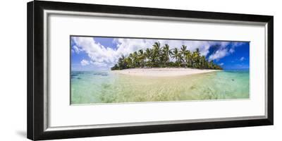 Beachfront at Royale Takitumu Luxury Villas, South Pacific Ocean-Matthew Williams-Ellis-Framed Photographic Print